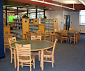 tables and library seating